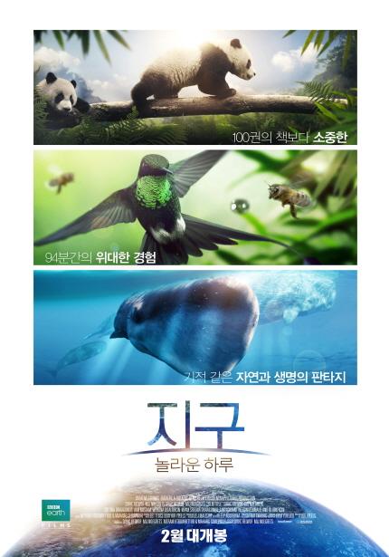 지구: 놀라운 하루 포스터