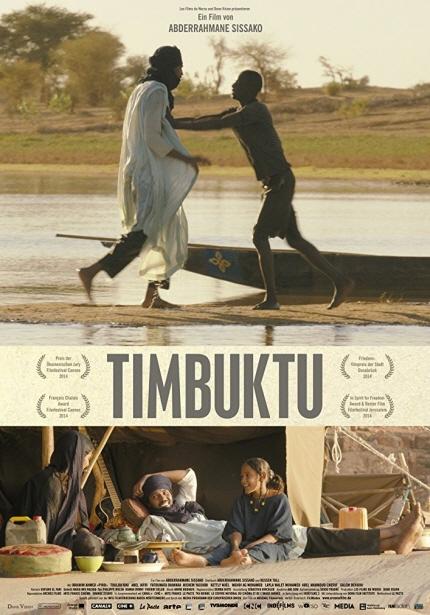 2018 아프리카개발은행 연차총회 기념 아프리카 영화제 <팀북투> 포스터 이미지
