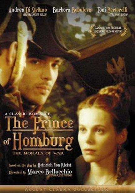 유네스코 영화 창의도시 특별전 - 에르마노 올미 & 마르코 벨로키오(홈부르크의 왕자) 포스터