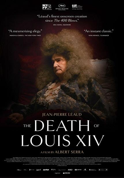 21세기 거장전 2018 상영작 <루이 14세의 죽음> 포스터 이미지