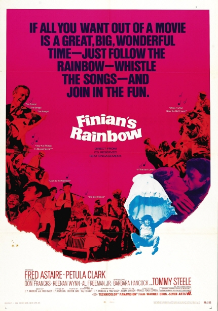 코폴라와 드 팔마의 21세기 <피니언의 무지개> 포스터 이미지