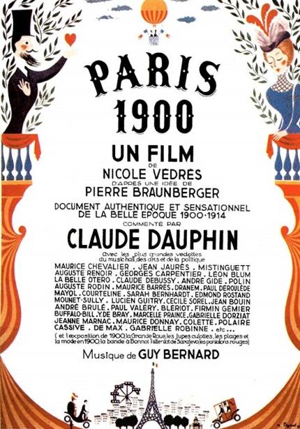앙드레 바쟁이 사랑한 영화들 <파리 1900> 포스터 이미지