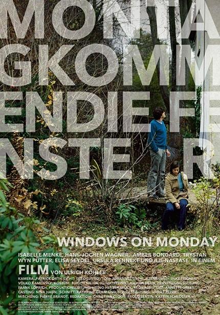 독일 영화의 봄 상영작 <월요일의 창문> 포스터 이미지