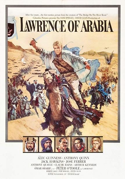 월드시네마 XVI 상영작 <아라비아의 로렌스> 포스터 이미지