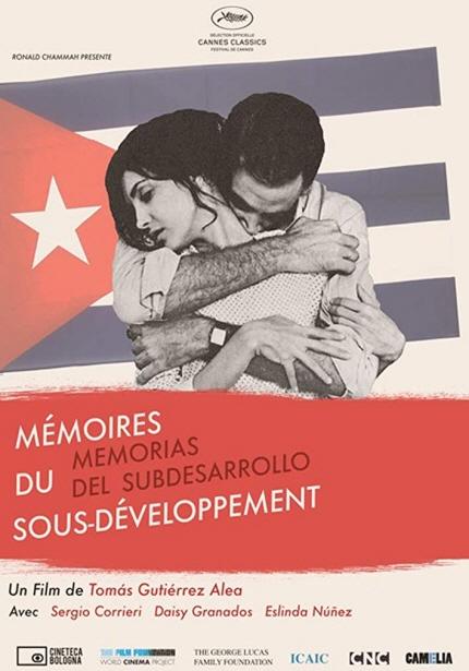 월드시네마 XVI 상영작 <저개발의 기억> 포스터 이미지