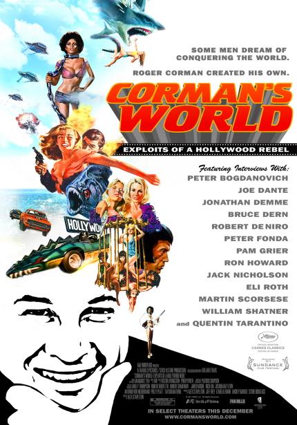 월드시네마 XVI 상영작 <로저 코만의 세계> 포스터 이미지