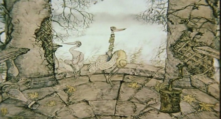월드시네마 XVI 상영작 <왜가리와 두루미> 스틸컷 이미지