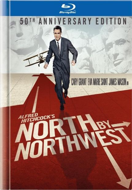 1959년으로의 여행 상영작 <북북서로 진로를 돌려라> 포스터 이미지