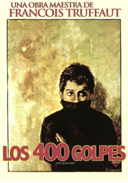 1959년으로의 여행 상영작 <400번의 구타> 포스터 이미지