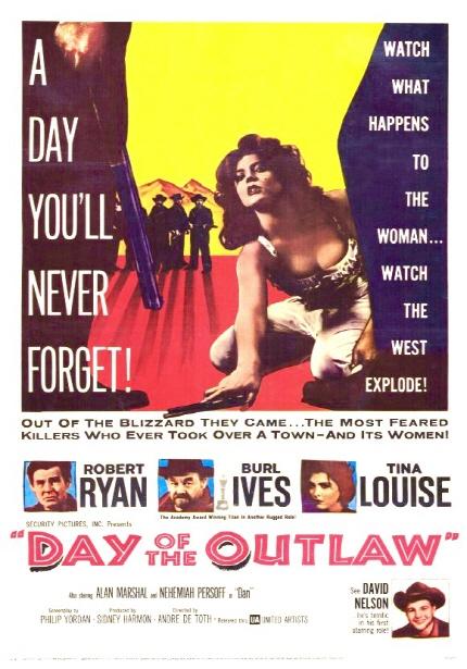 1959년으로의 여행 상영작 <무법자의 날> 포스터 이미지