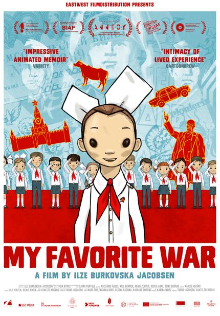 <내가 가장 좋아하는 전쟁> 포스터